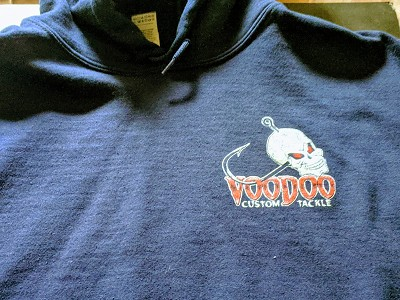 Heavyweight Voodoo Hoodies- XXXLarge