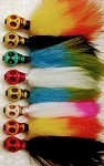 Voodoo skull jigs  - 4 pack assorted